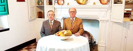 Dining with Lorca, Gilbert & George