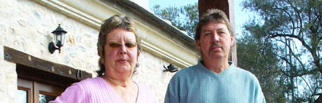 British couple scared to leave house in case bulldozers move in