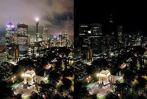 Wonderfully dark Sydney, Australia