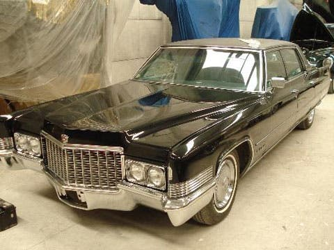 1958 Cadillac Part Cadillac Hearse Part Used