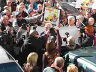 Almeria protest