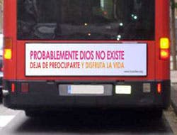 Atheist bus campaign comes to Spain
