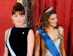 It's Letizia by a head and tiara