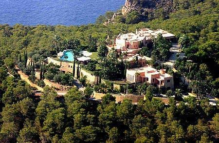 Michael Cretu's home in Ibiza