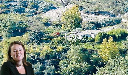CASHING IN: MP Moran has made money renting her 'fourth' home, a luxury property in the Alpujarras