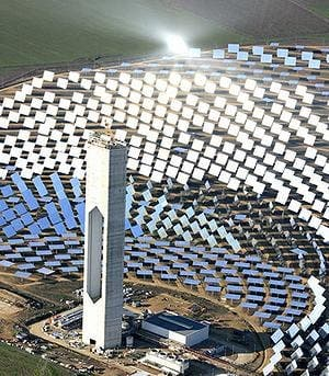 World's largest solar tower switches on