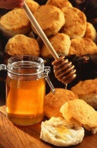 TREAT: Honey is a healthy ingredient that was first produced 10,000 years ago