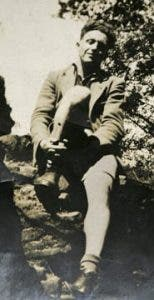 Jack Edwards during the Spanish Civil War