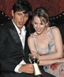 SPAIN BOUND: Kylie is househunting in Spain with new lover Andres Velencoso