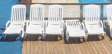 A free ride for the sunloungers this summer