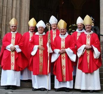 Red bishops honoured