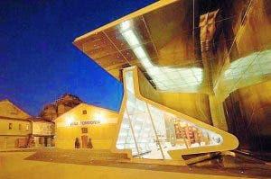 FRESH: Hadid's stylish tasting room at Tondomia