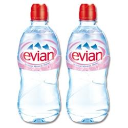 Don't be naïve (Evian spelt backwards) – give up the bottle