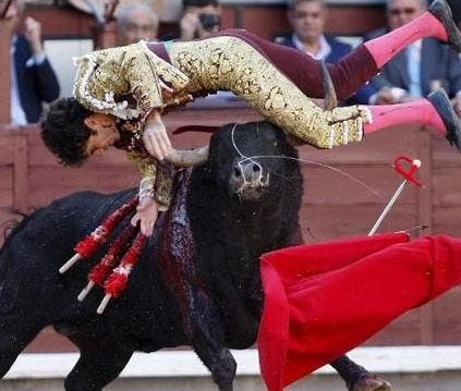 Renowned Spanish bullfighter in intensive care