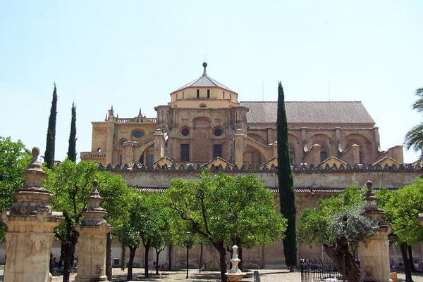 Holy war outside Cordoba's former Great Mosque