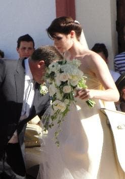 Arterton Bonds with Italian at Andalucia wedding
