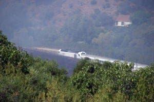 Jimera de Libar wild fire