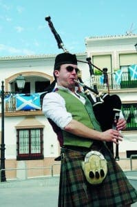 Bagpipes, kilts and Robert the Bruce…