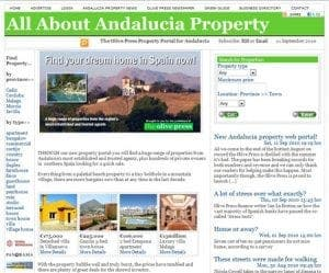New property portal for Andalucia