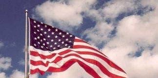 american flag e