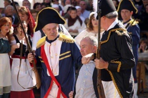 Montejaque 1810 battle re-enactment