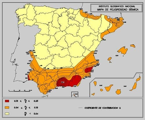 Earthquakes in Almería
