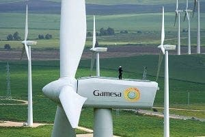 UK gets wind of Spain's top turbine maker