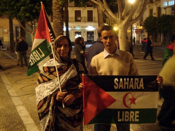 Saharawi protests in historic Jerez