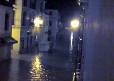 Hospital evacuated as heavy rain brings severe flooding to parts of Andalucia