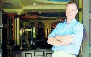 James Hewitt's Polo House looks abroad