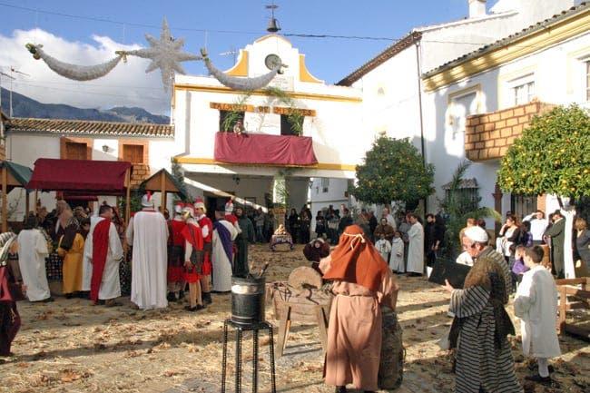 Live Belén in Jimera de Líbar
