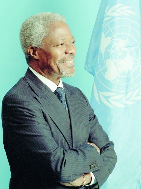 Kofi Annan coming to Spain for wine