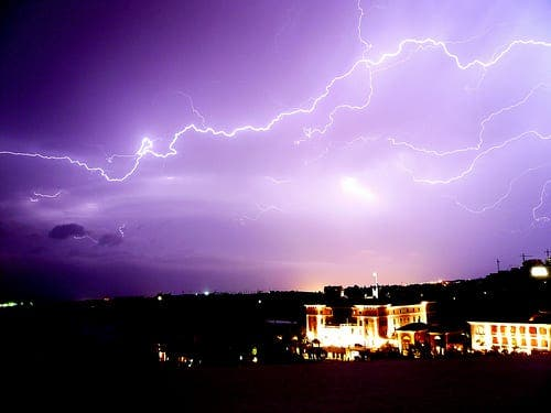 Man killed by lightning after more heavy rain hits southern Spain
