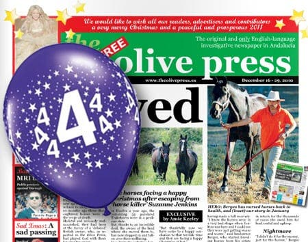 Merry Christmas from Spain's No1 English newspaper