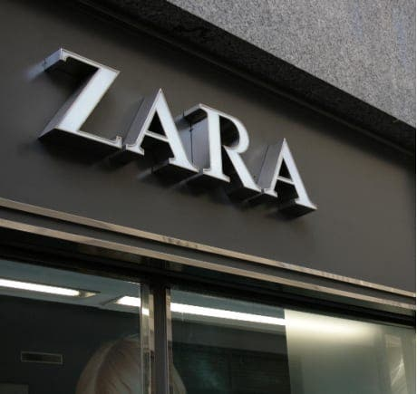 Green is the new black for Zara