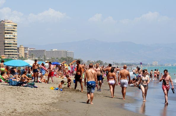 Spanish tourism on the increase