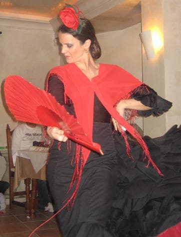 An evening of fine food and flamenco at Al Lago