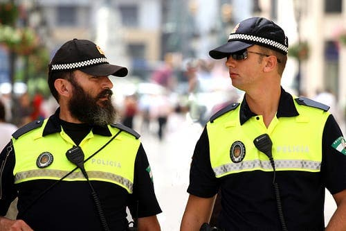 Malaga police at risk from mafia after clerical error