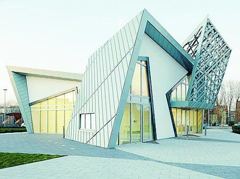 Green light for Libeskind eco-villas