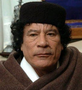 Spain freezes Gaddafi's assets