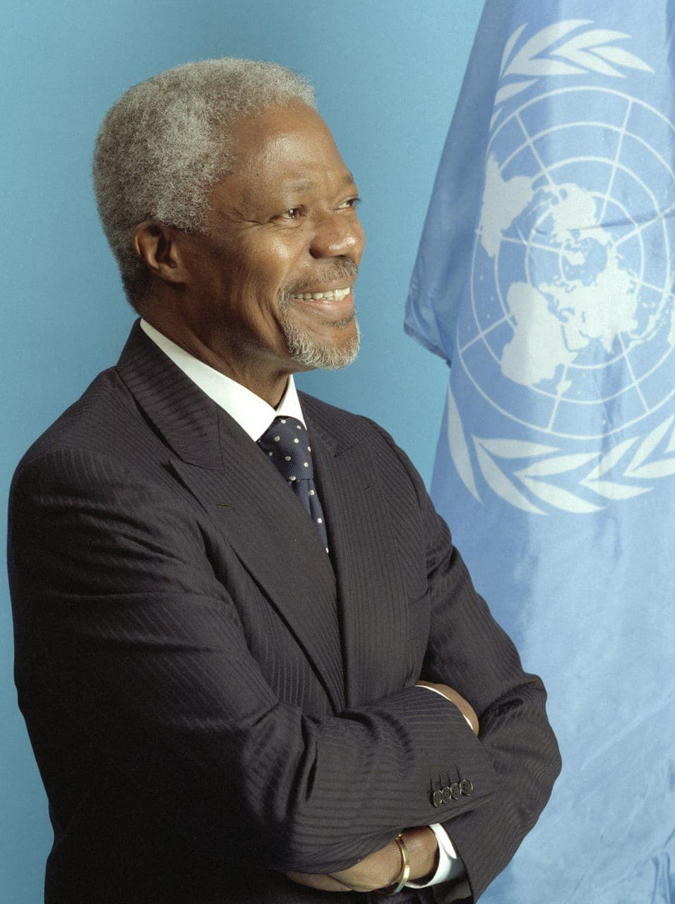 Wining and dining with Kofi Annan in Spain