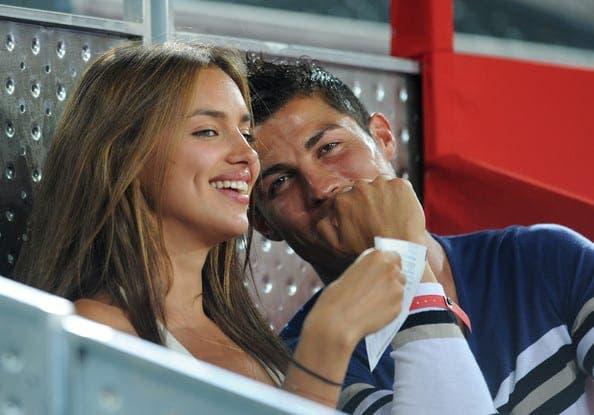 irina shayk cristiano ronaldo. Cristiano Ronaldo and Irina