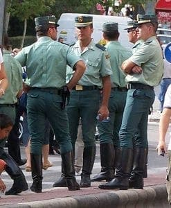 Guardia Civil, stock image