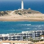 Meca and Cabo Trafalgar lighthouse Cadiz Province Spain
