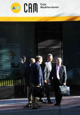 Spanish bank CAM faces bail-out threat