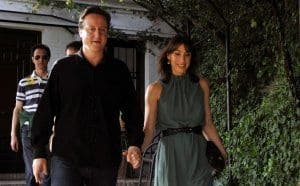 David Cameron whisks Samantha away to Granada