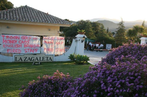 Strike at La Zagaleta: Spain's most exclusive development