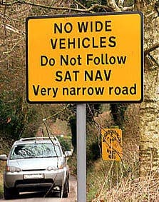 The satnav rebels