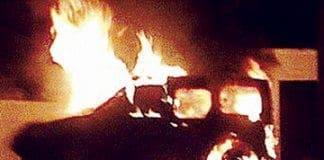 Pauls car fire