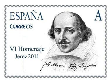 Shakespeare's Spanish stamp of approval